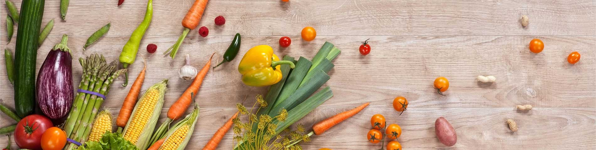 Healthy Nutritious Food in Organic Home